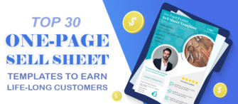 Top 30 One-Page Sell Sheet Templates to Earn Life-Long Customers