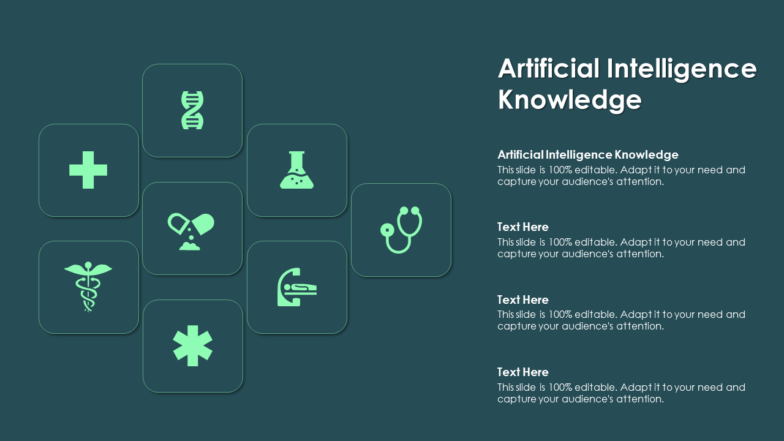 Artificial Intelligence Knowledge PPT PowerPoint Presentation