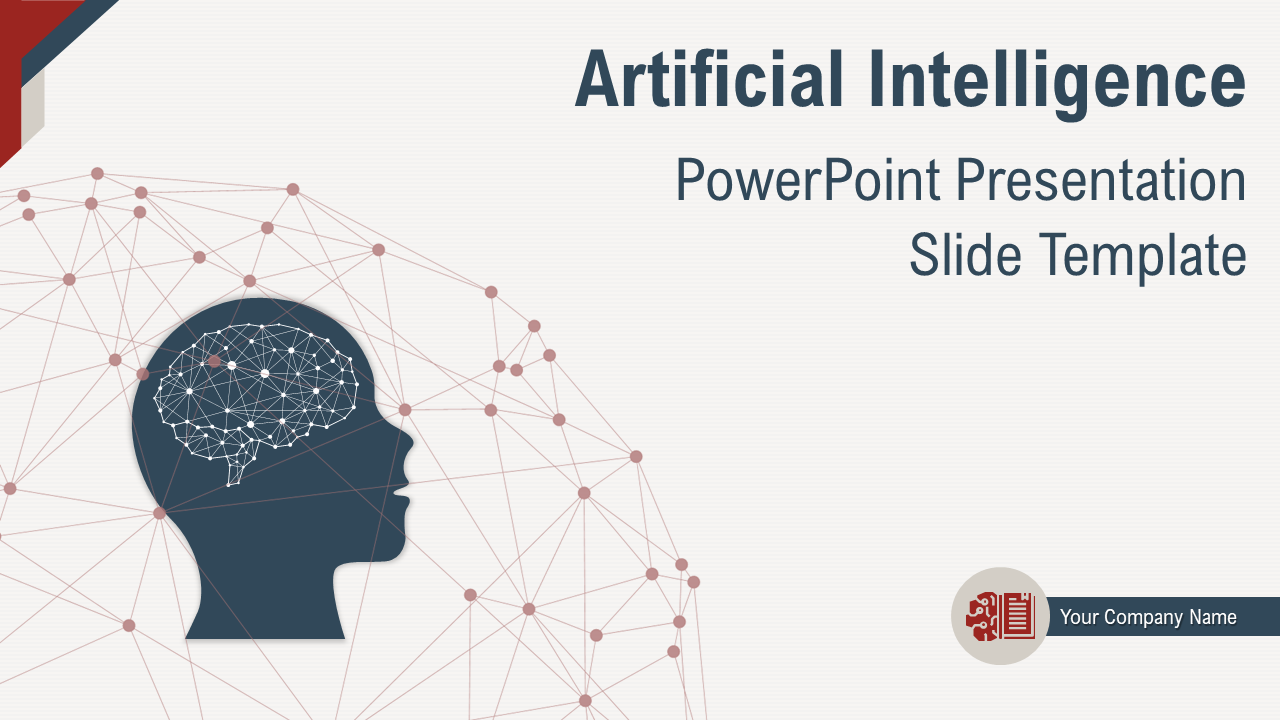 Artificial Intelligence PowerPoint Presentation Slide Template