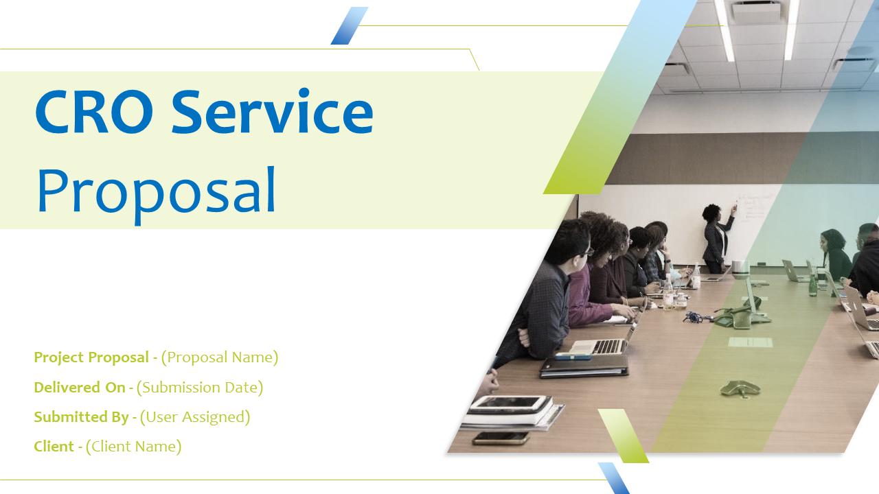 CRO Service Proposal PowerPoint Presentation