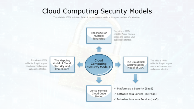 Cloud Computing Security Models