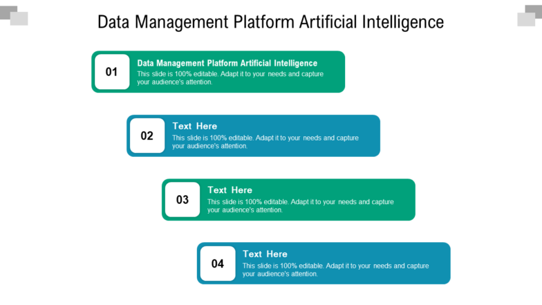Data Management Platform Artificial Intelligence PPT PowerPoint Presentation