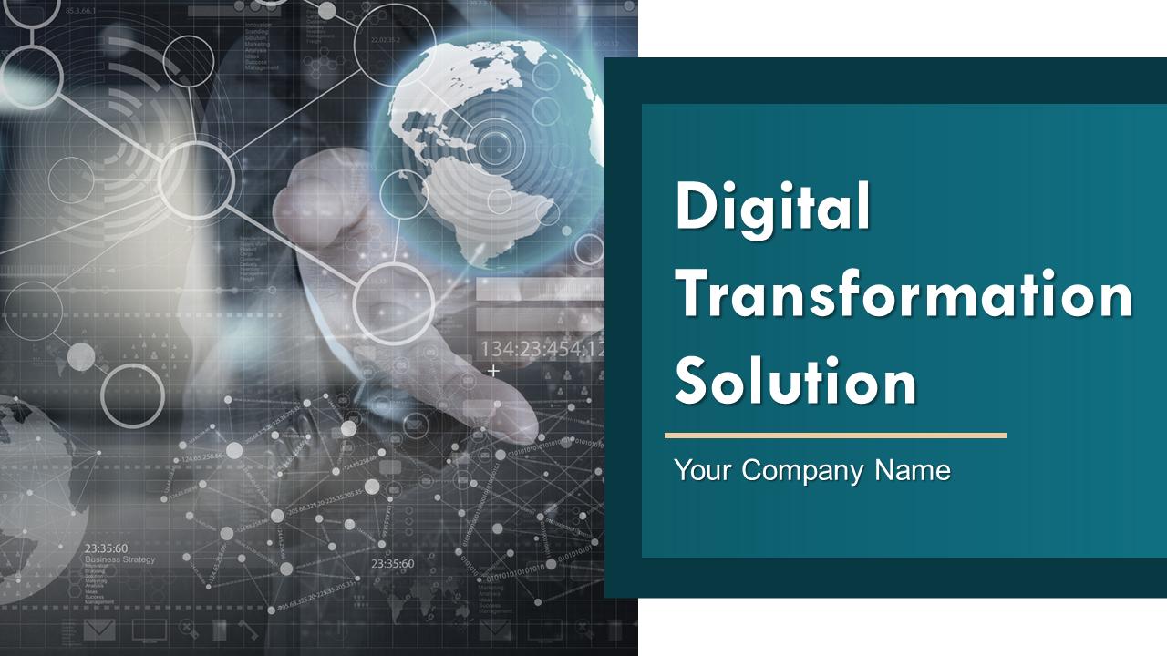 Digital Transformation Solution PowerPoint Presentation