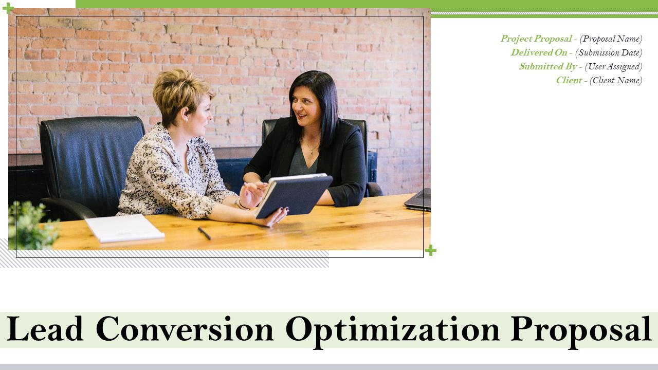 Lead Conversion Optimization Proposal PowerPoint Presentation