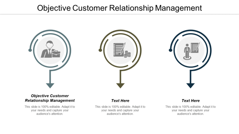 Objective Customer Relationship Management PPT PowerPoint Presentation