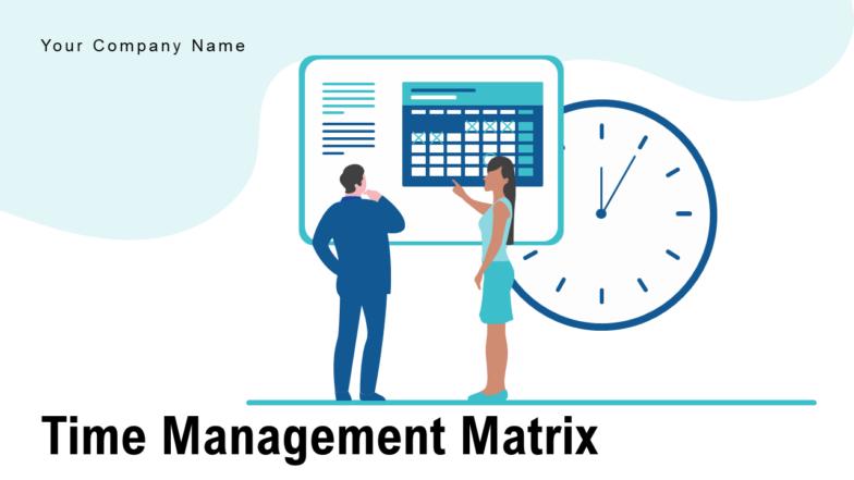 Time Management Matrix Organizational Process Improvement Employees Strategy Business