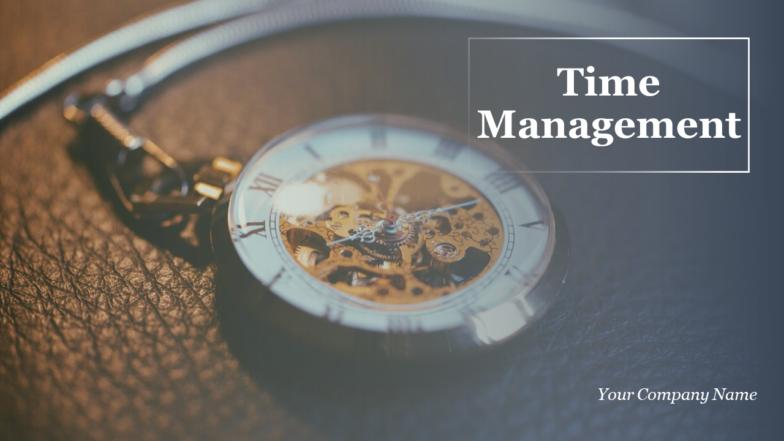 Time Management PowerPoint Presentation Slides