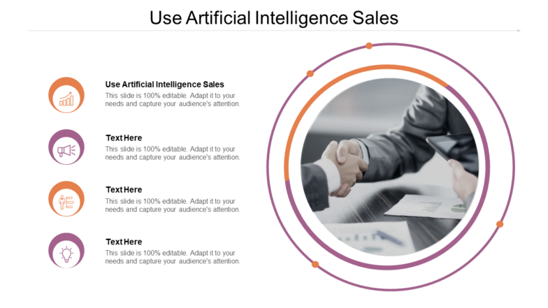 Use Artificial Intelligence Sales PPT PowerPoint Presentation