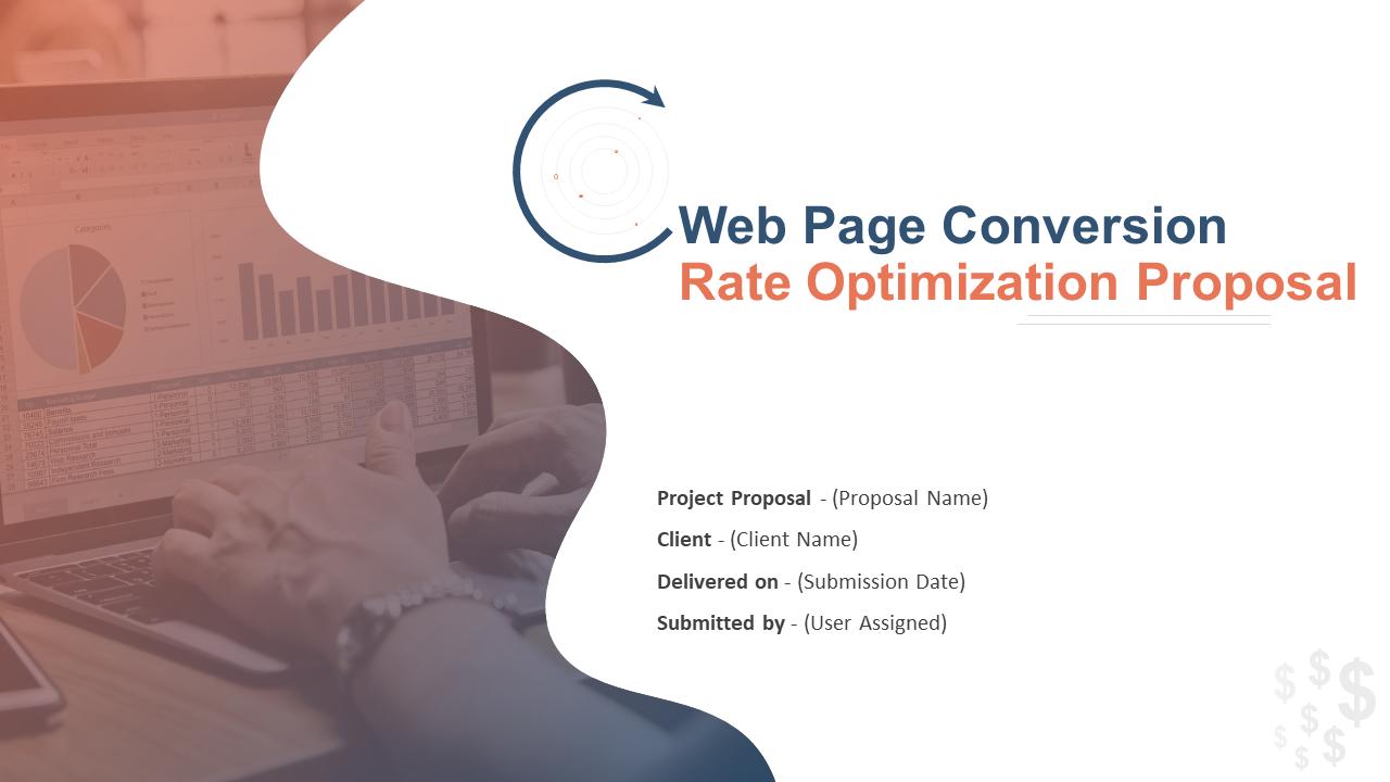 Web Page Conversion Rate Optimization Proposal PowerPoint Presentation