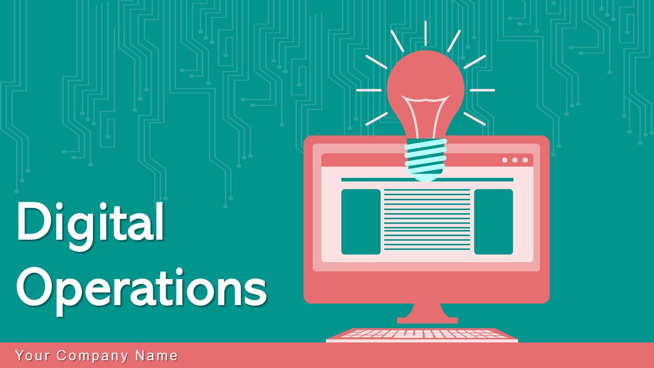 Digital Operations