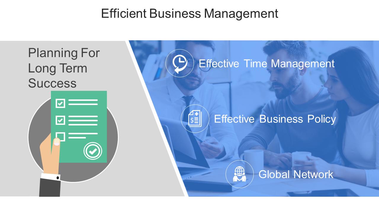 Efficient Business Management