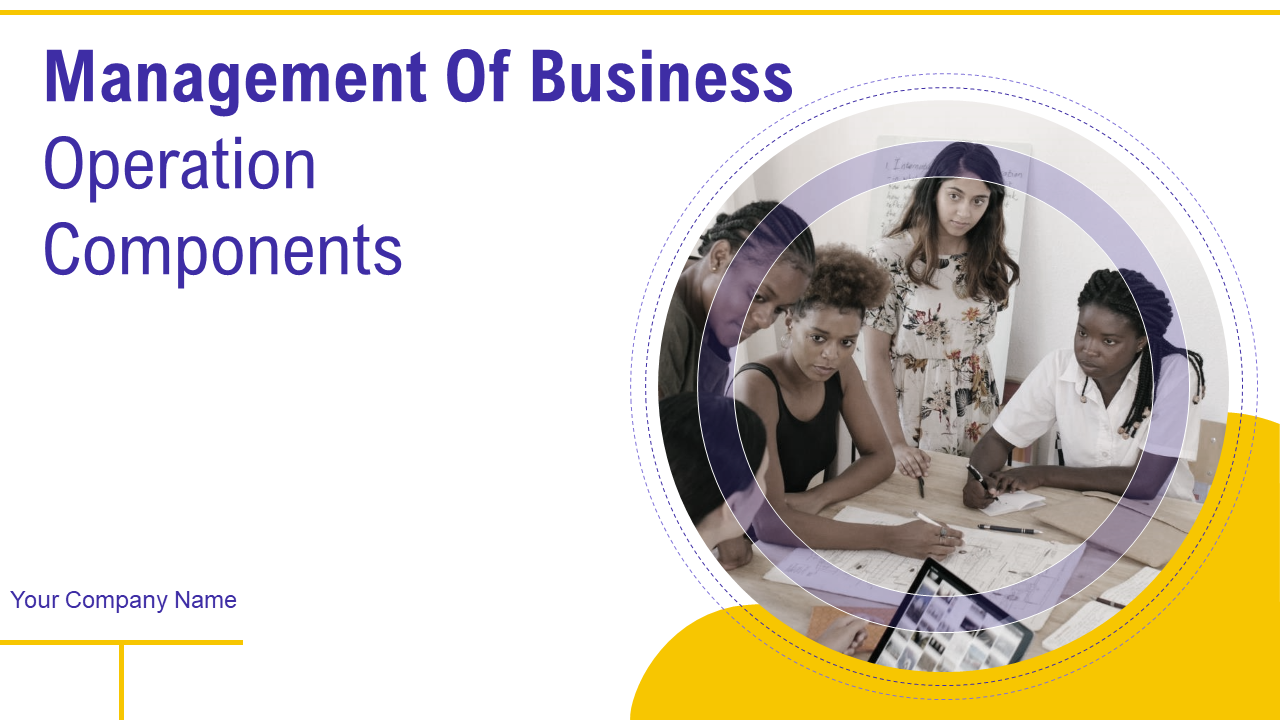 Management Of Business Operations
