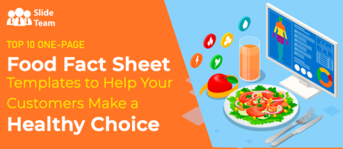 Top 10 One-Page Food Fact Sheet Templates to Help Your Customers Make a Healthy Choice