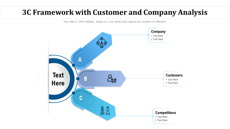 3C Framework With Customer And Company Analysis