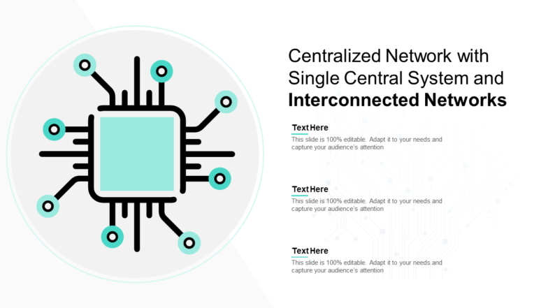 Centralized Network With Single Central System