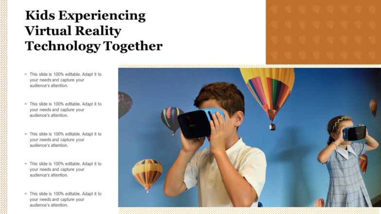 Kids Experiencing Virtual Reality Technology