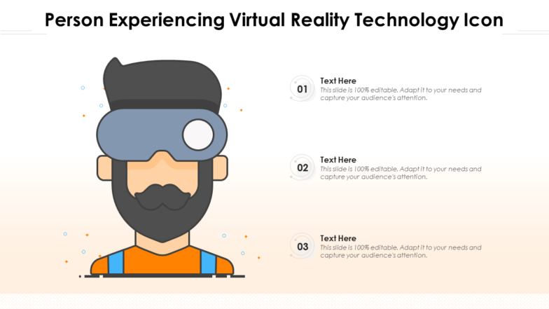 Person Experiencing VR Technology Icon
