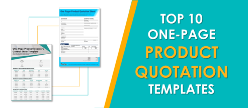 Top 10 One-Page Product Quotation Sheet Templates for Suppliers and Vendors!