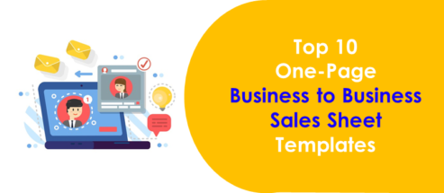 Top 10 One-Page Business to Business Sales Sheet Templates for Better Marketing Connections!