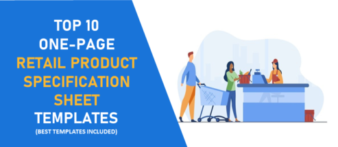 Top 10 One-Page Retail Product Specification Sheet Templates to Impel Your Customers!