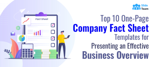 Top 10 One-Page Company Fact Sheet Templates for Presenting an Effective Business Overview
