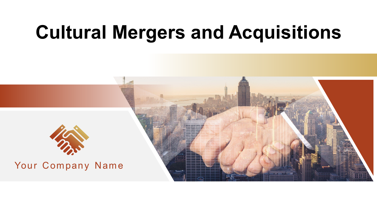 Cultural Mergers And Acquisitions PowerPoint Presentation