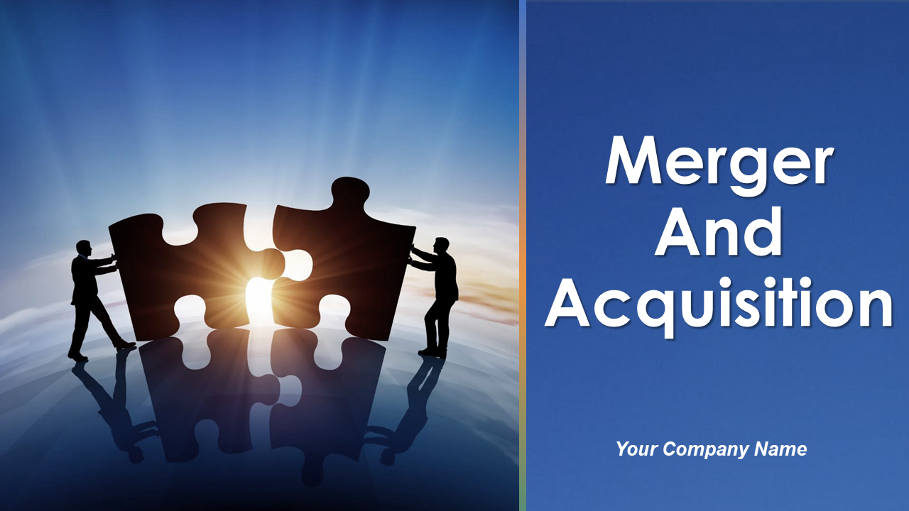 Merger And Acquisition PowerPoint Presentation