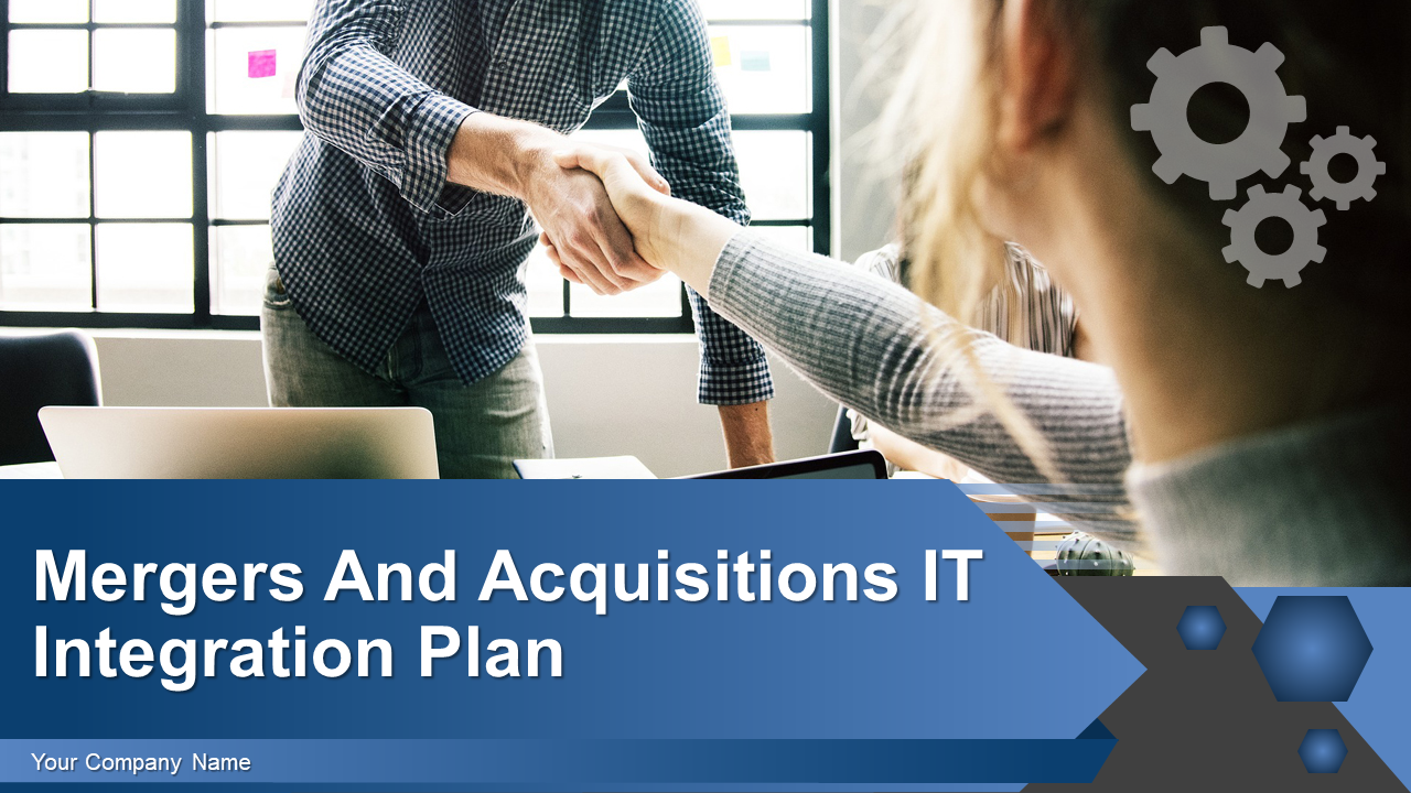 Mergers And Acquisitions IT Integration Plan PowerPoint Presentation