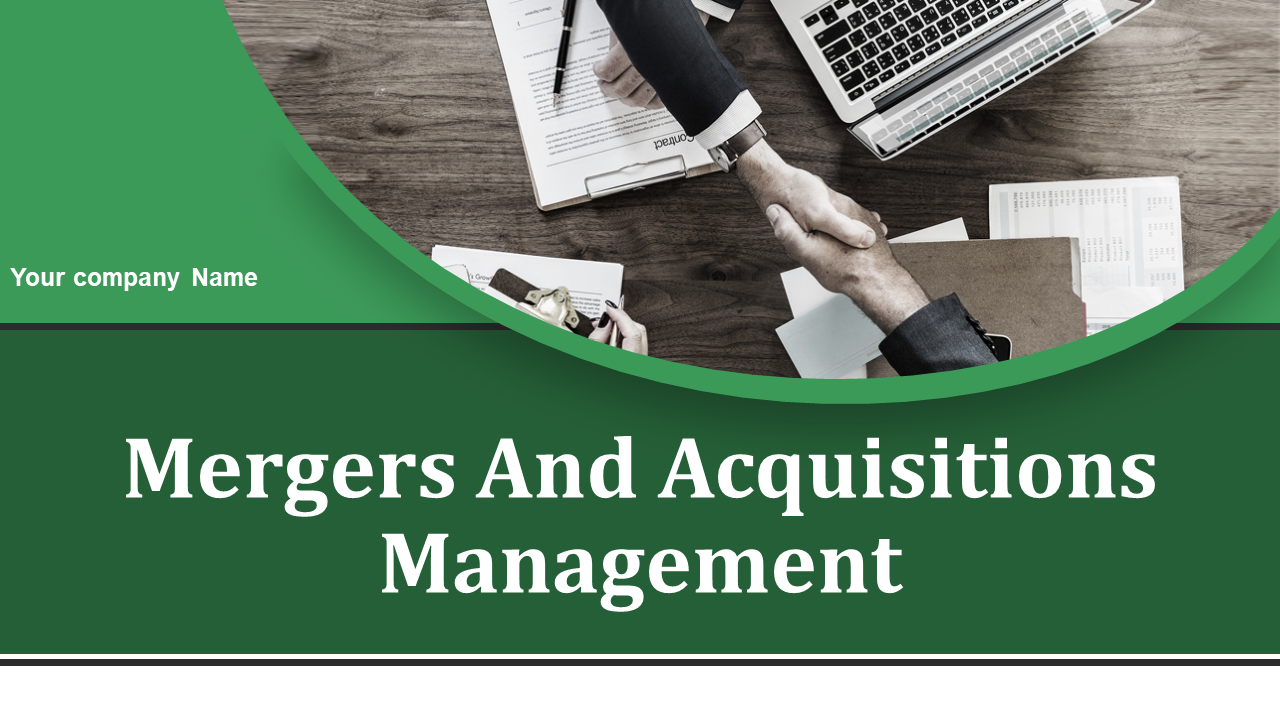 Mergers And Acquisitions Management PowerPoint Presentation