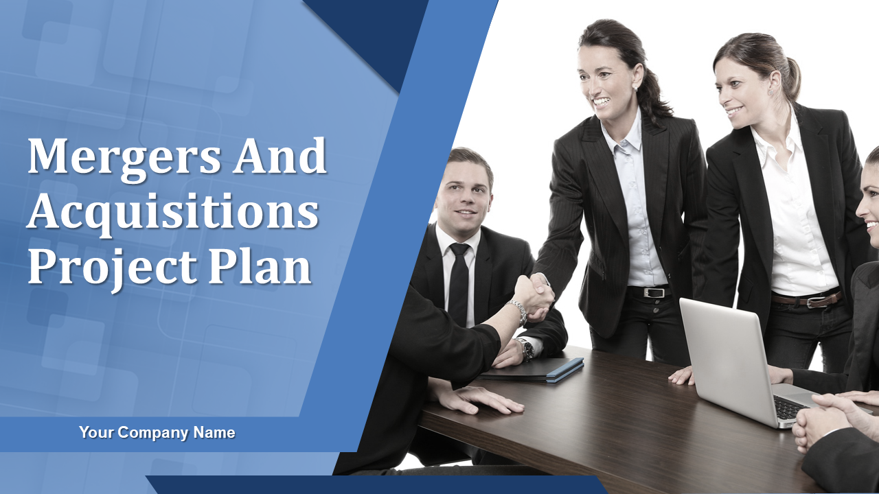 Mergers And Acquisitions Project Plan PowerPoint Presentation