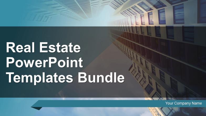 Real Estate PowerPoint Templates Bundle PowerPoint Presentation Slides
