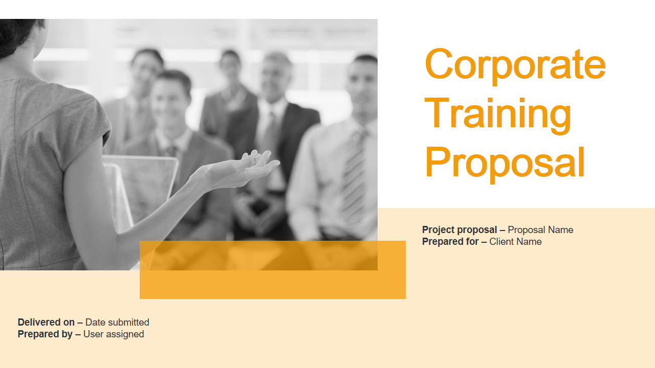 Corporate Training Proposal