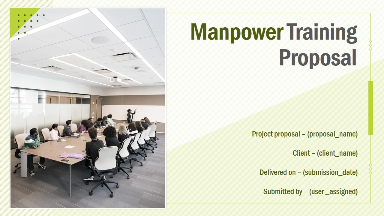 Manpower Training Proposal