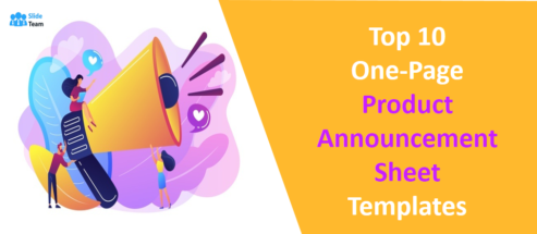Top 10 One-Page Product Announcement Sheet Templates to Create a Buzz!