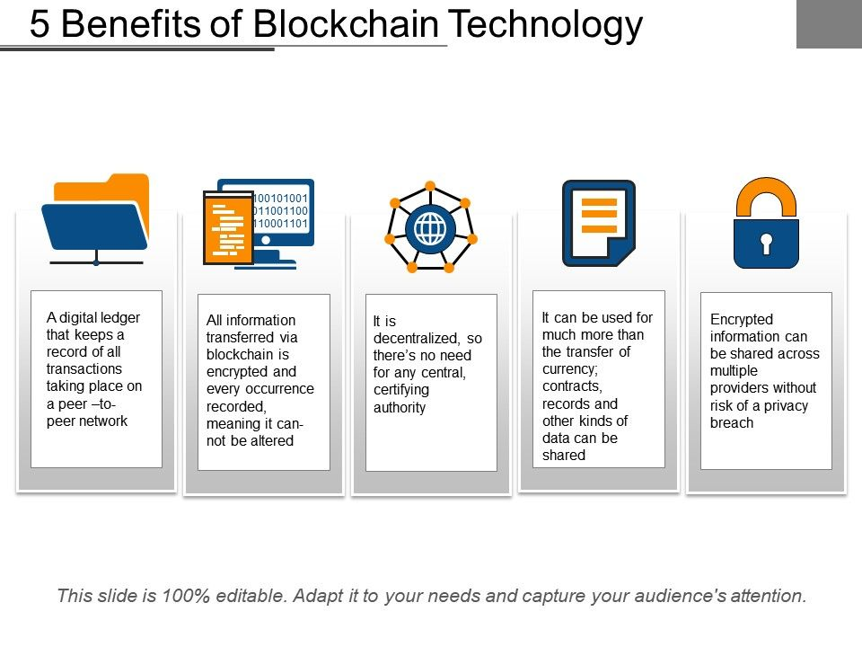 5 Benefits Of Blockchain Technology