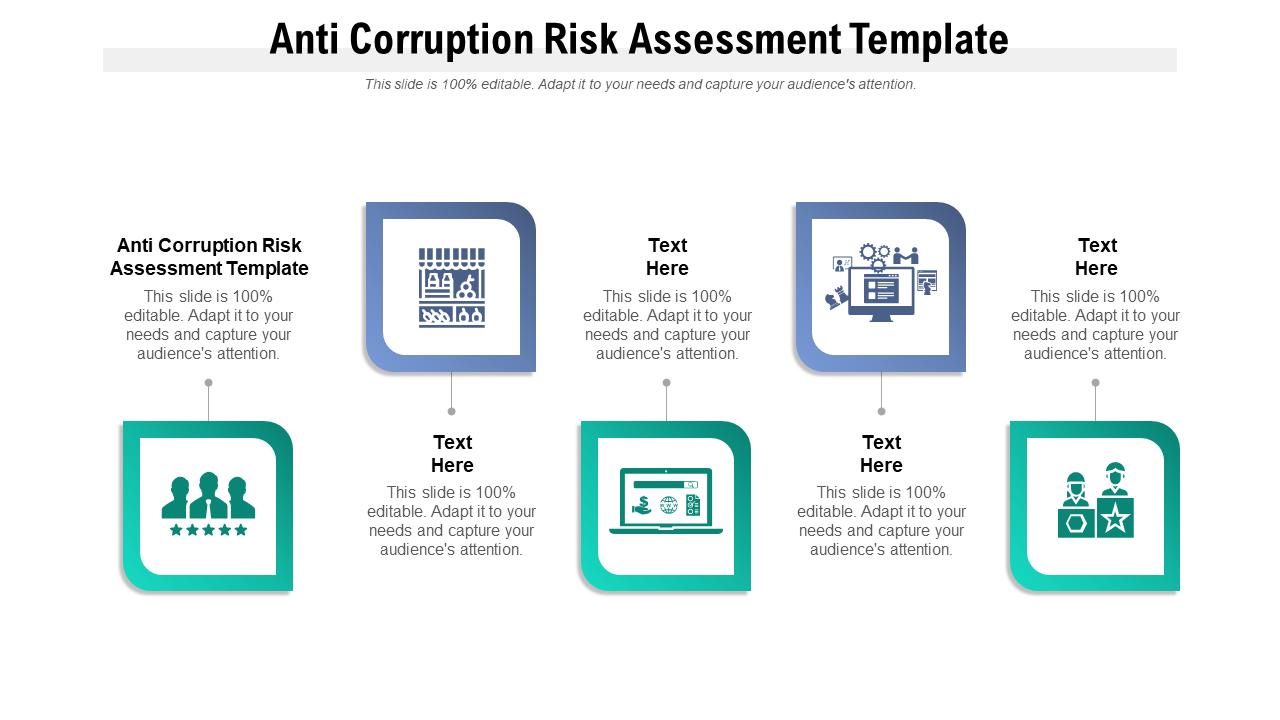 Anti Corruption Risk Assessment Template PPT