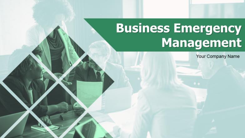 Business Emergency Management PowerPoint Presentation Slides