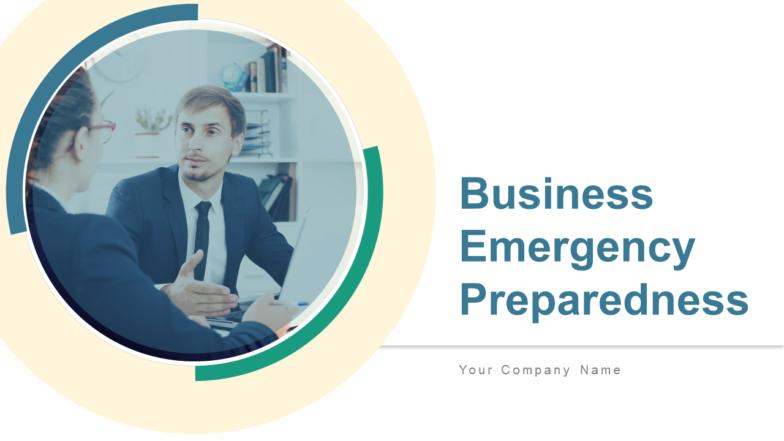 Business Emergency Preparedness PowerPoint Presentation Slides
