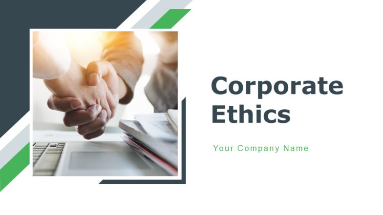 Corporate Ethics PowerPoint Presentation Slide