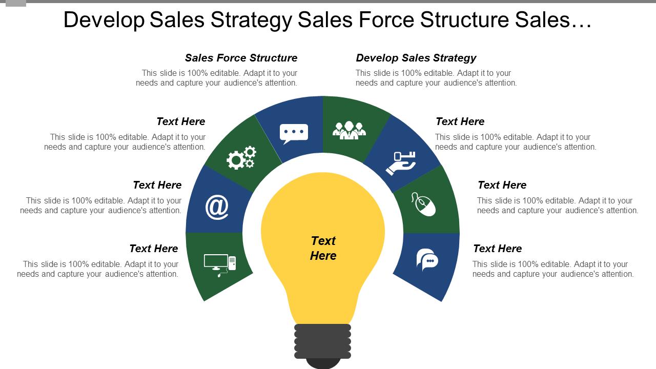 Develop Sales Strategy PowerPoint Slides