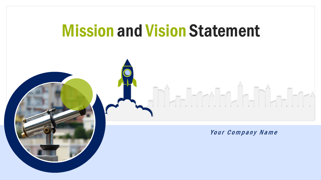 Mission And Vision Statement PowerPoint Slides