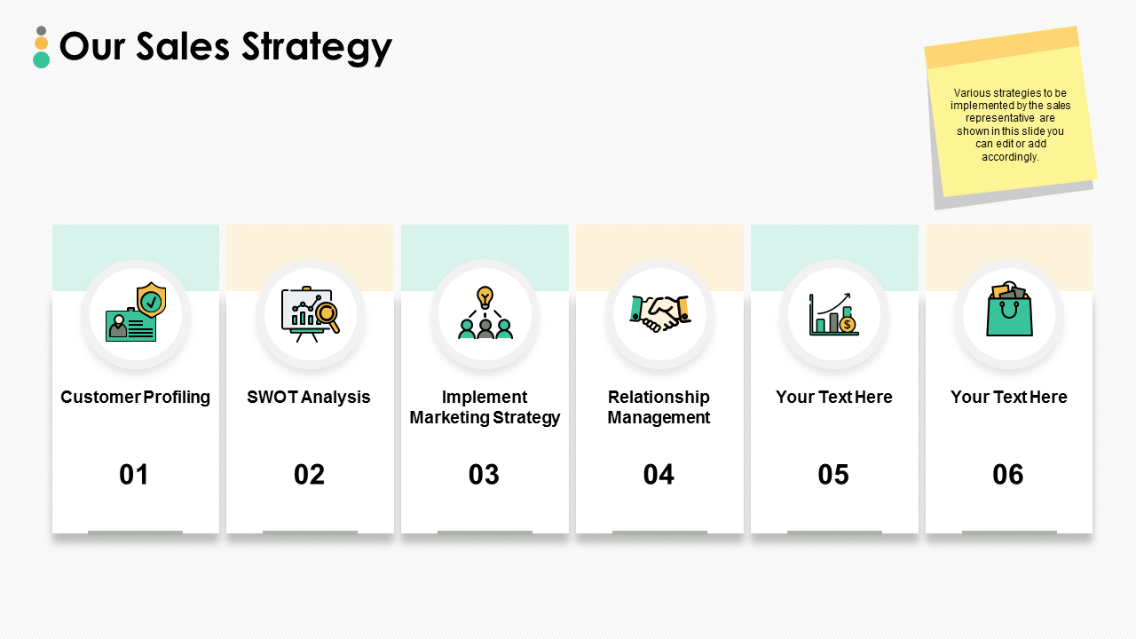 Our Sales Strategy PPT Presentation Slides