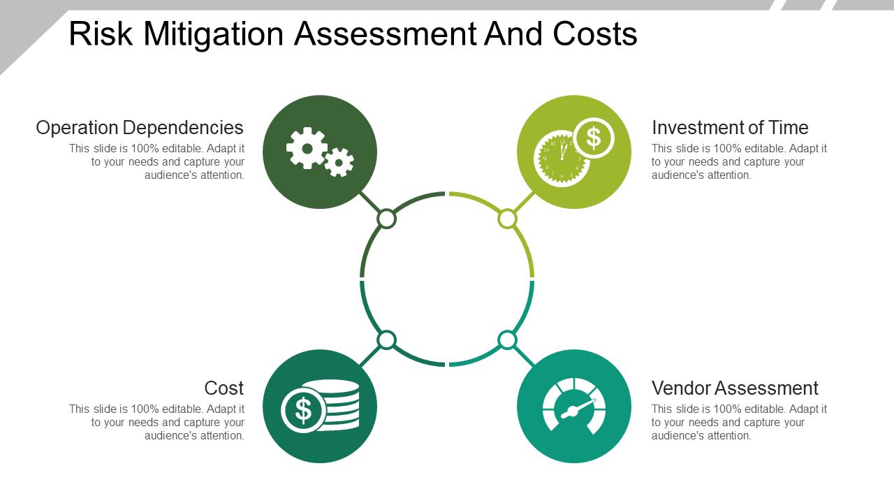 Risk Mitigation Assessment And Costs Presentation