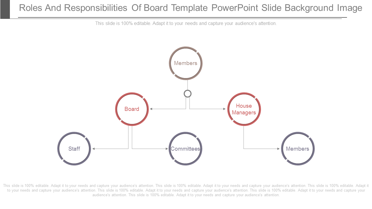 Roles And Responsibilities Of Board PowerPoint Slides