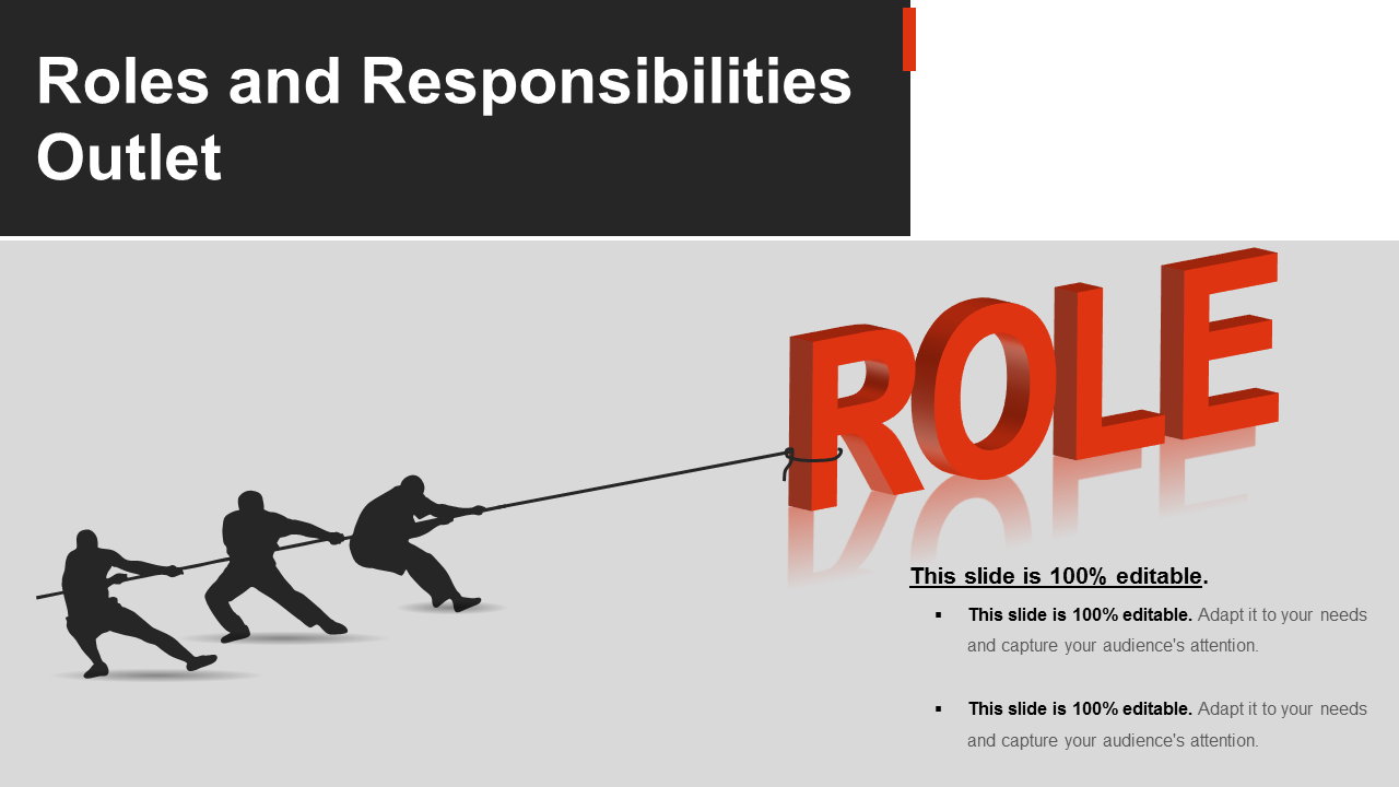 Roles And Responsibilities Outlet PowerPoint Slides