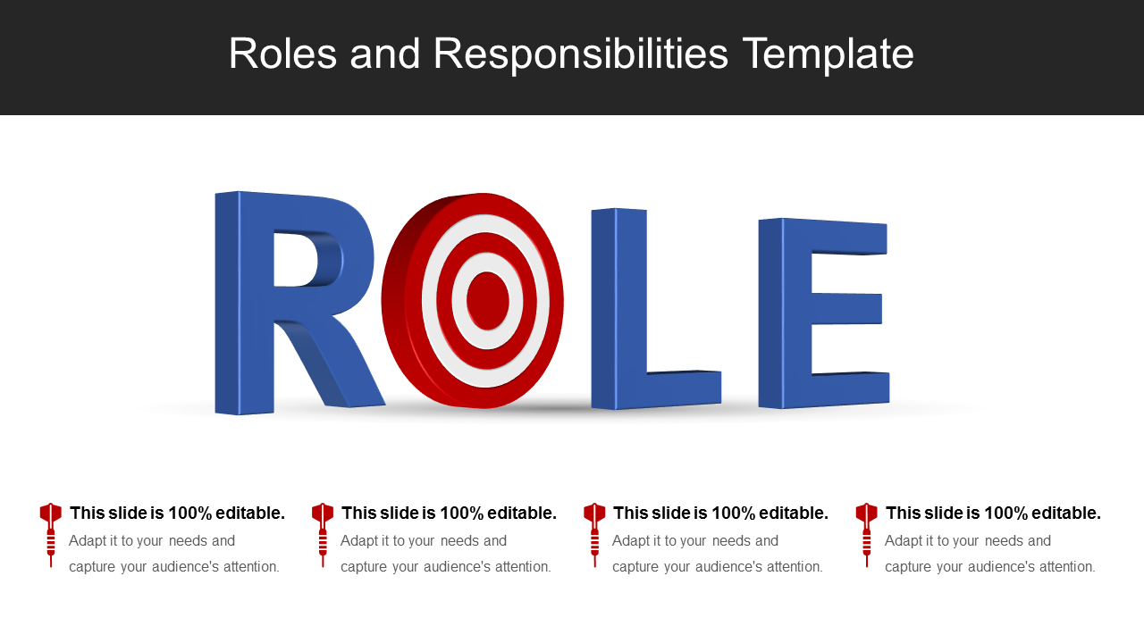 Roles And Responsibilities PowerPoint Slides