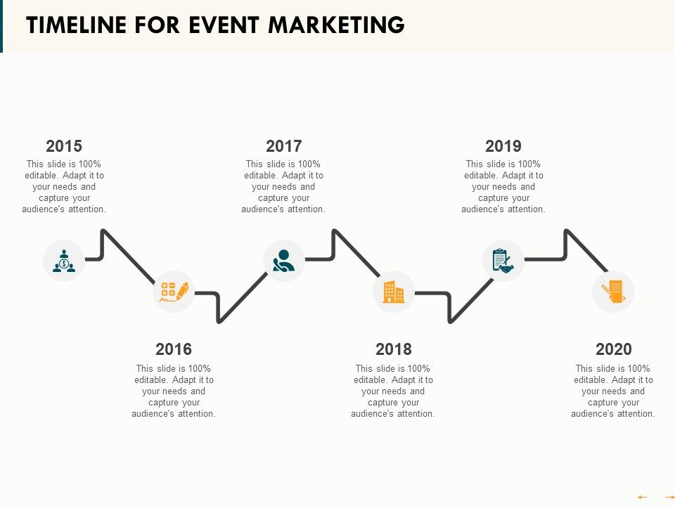 Timeline For Event Marketing