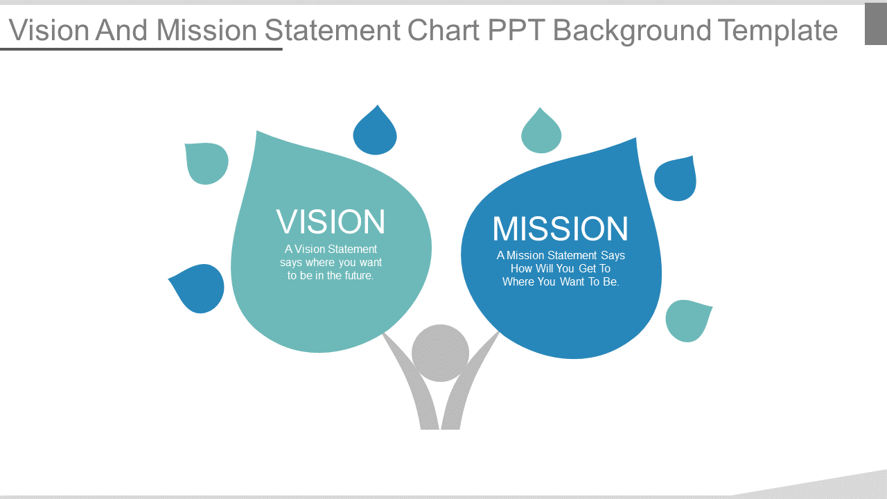 Vision And Mission Statement Background PowerPoint Slides