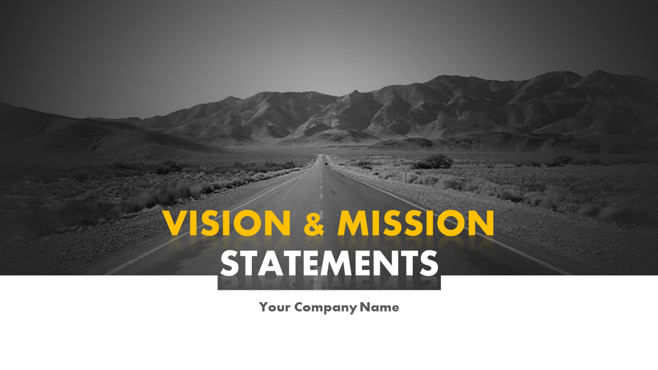 Vision And Mission Statements PowerPoint Slides