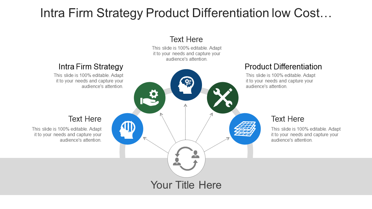 Intra Firm Strategy Product Differentiation Template